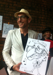 Cartoonist Crazy David