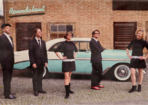 Roundabout – Sixties-Coverband