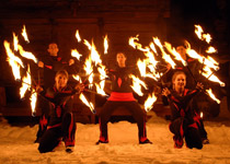 Flames - the fire dancers