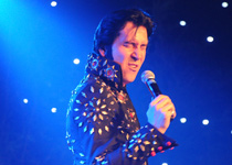 Elvis-Show mit Tommy King